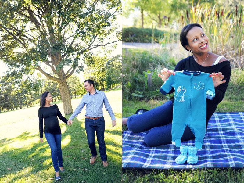 futurs parents session maternité
