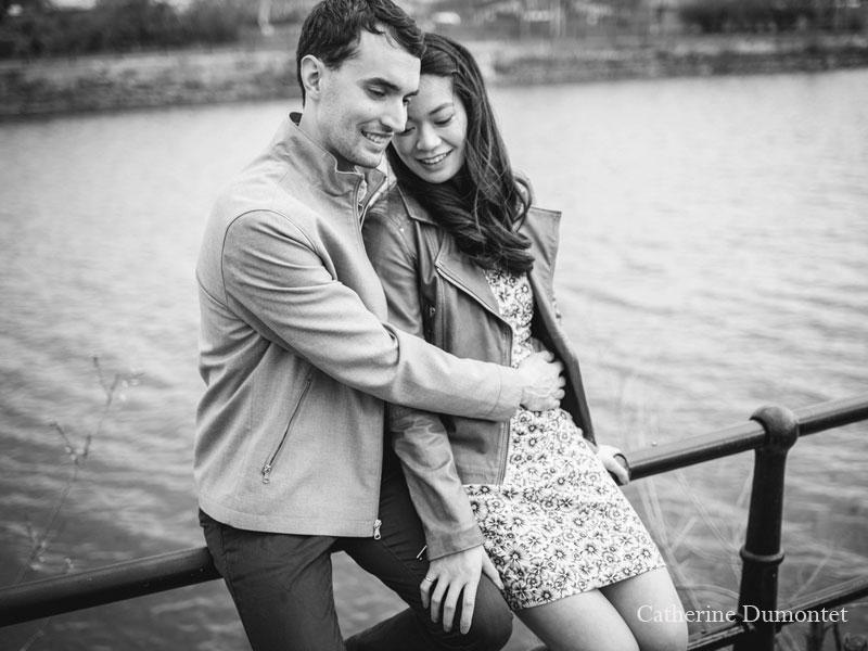session fiançailles à L'Espace Canal de Montréal