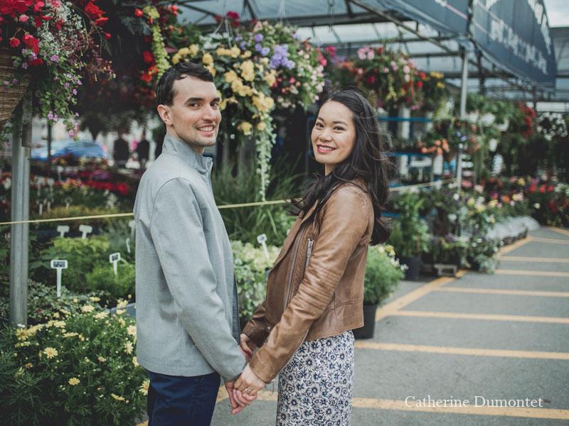 les fiancés au Marché Atwater