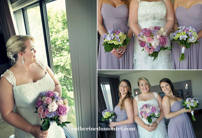 photos de mariage avec demoiselles d'honneur