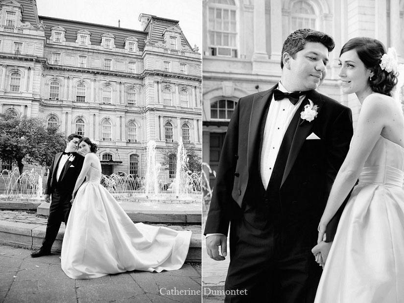 mariage dans le Vieux-Port de Montréal