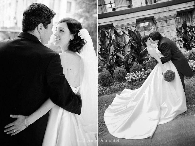 photos des amoureux qui s'embrassent et se regardent