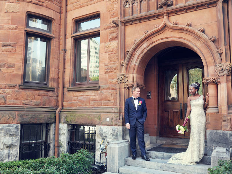 wedding photo in Montreal