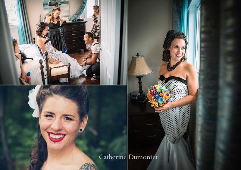 Portraits des mariées