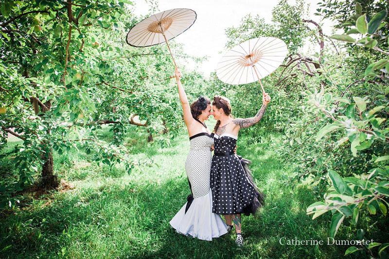 mariage coup de coeur au Jude-Pomme