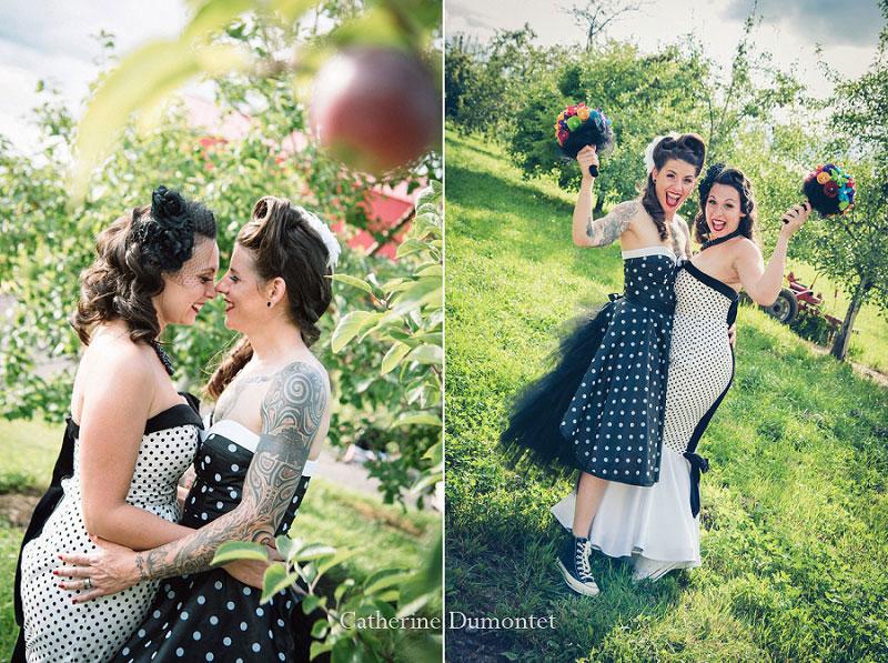mariage coup de coeur au Jude-Pomme d'Oka