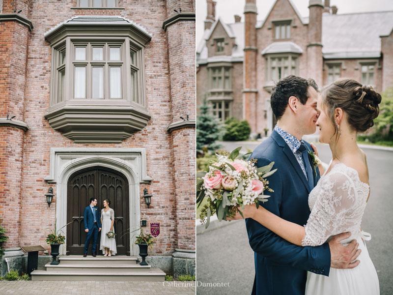 les mariésen-avant du Manoir Rouville-Campbell