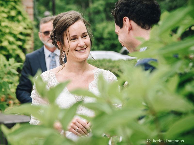 l'échange des voeux des mariés