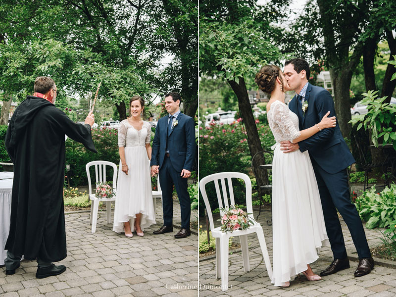 cérémonie de mariage au Manoir