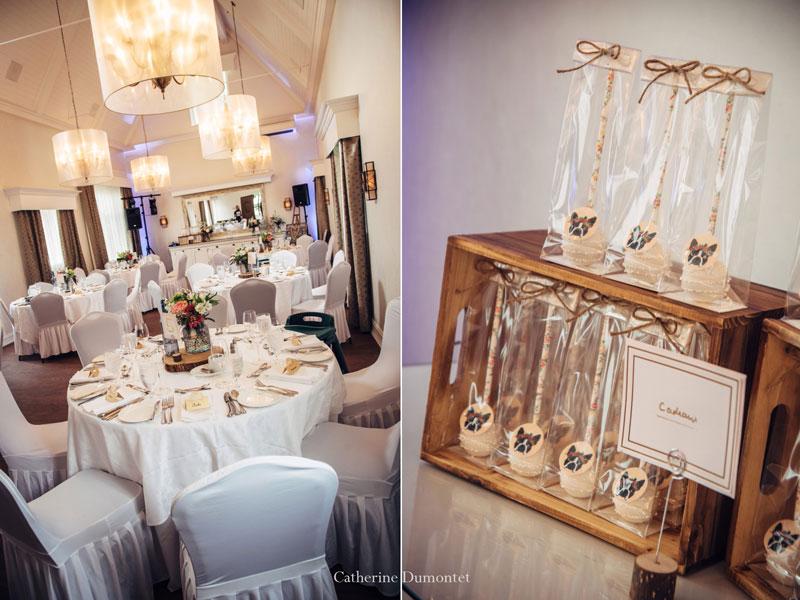 décorations mariage de la salle Jordi Bonnet