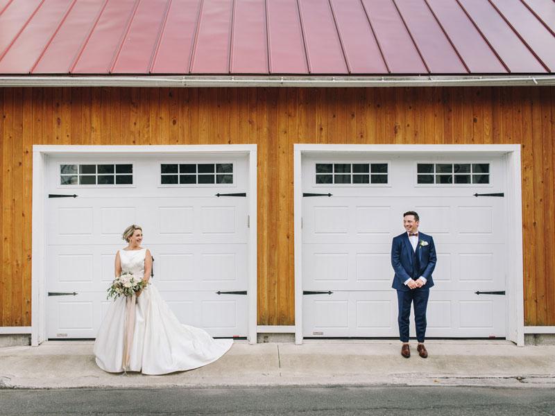 mariés dans le Vieux-Boucherville