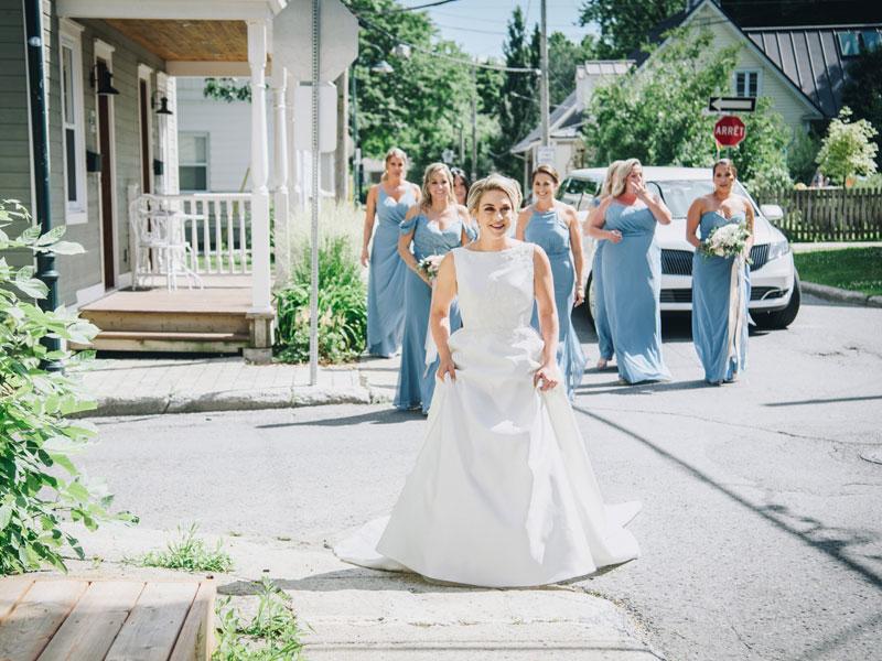First look des mariés