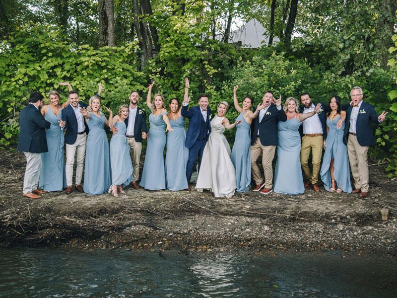 Mariage à l'Île Navark à Boucherville
