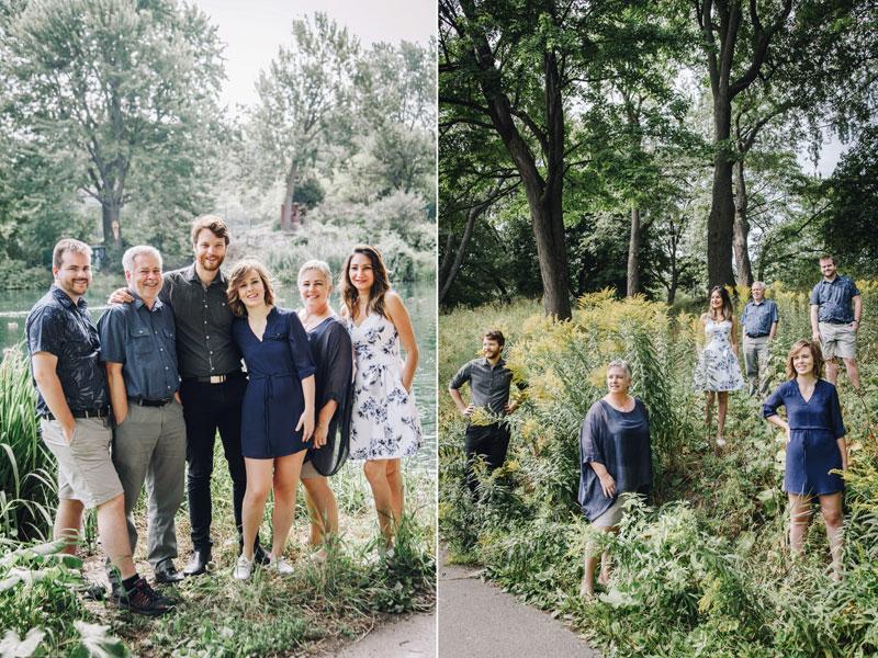 famille au parc La Fontaine