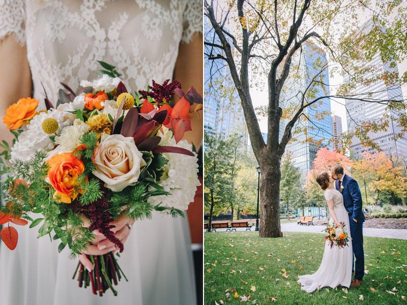 mariés au centre-ville de Montreal