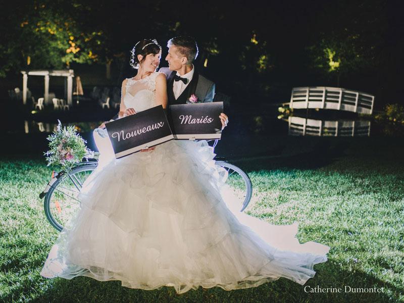 Nouveaux mariés à La Distinction Joliette