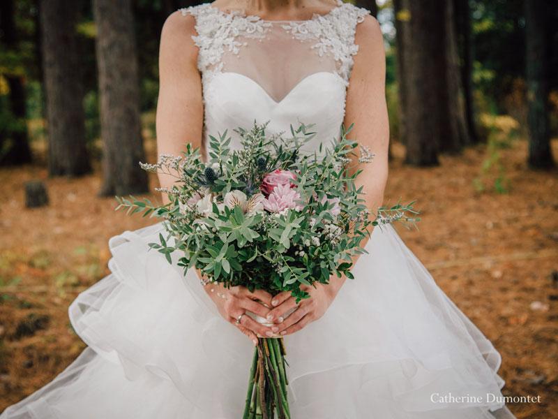 bouquet rustique de la mariée