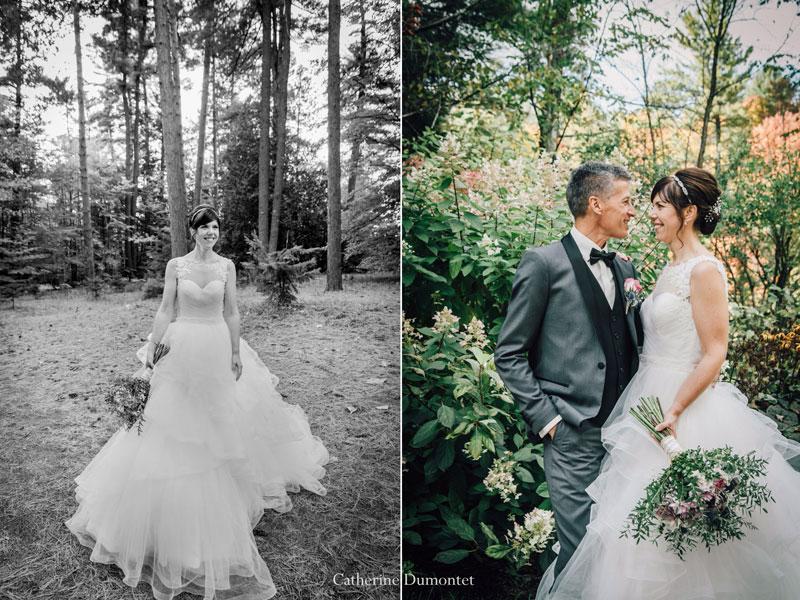 mariage automnal dans Lanaudière