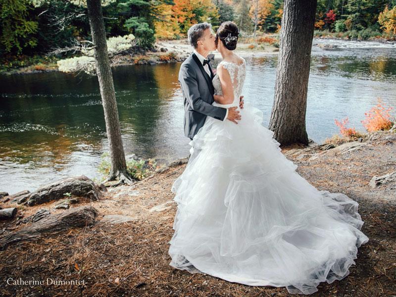 les mariés aux chutes Dorwin