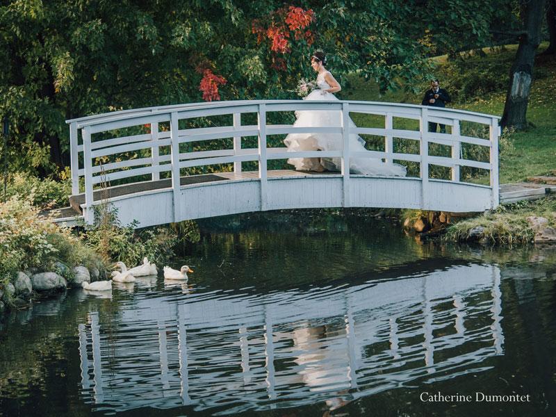 la mariée se rend à la cérémonie