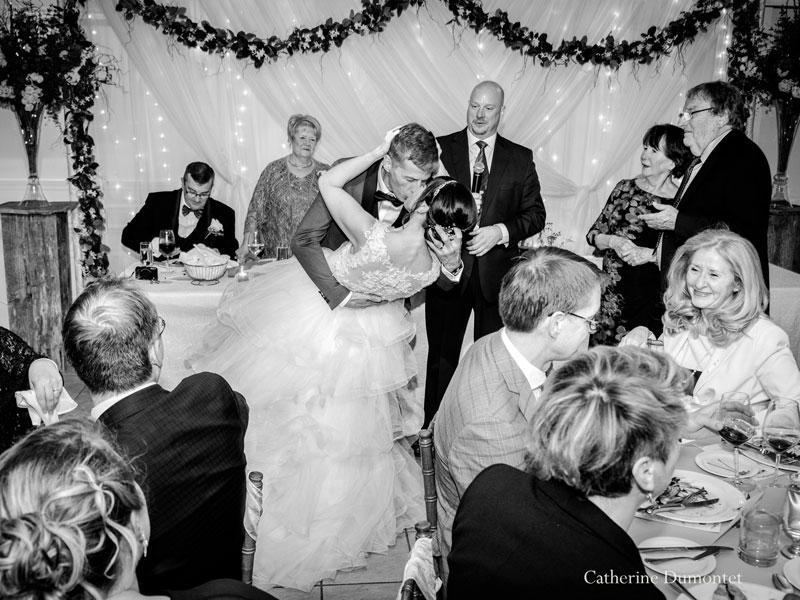 réception de mariage à La Distinction