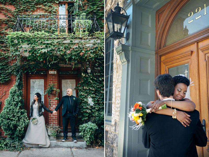 Old Montreal wedding photography