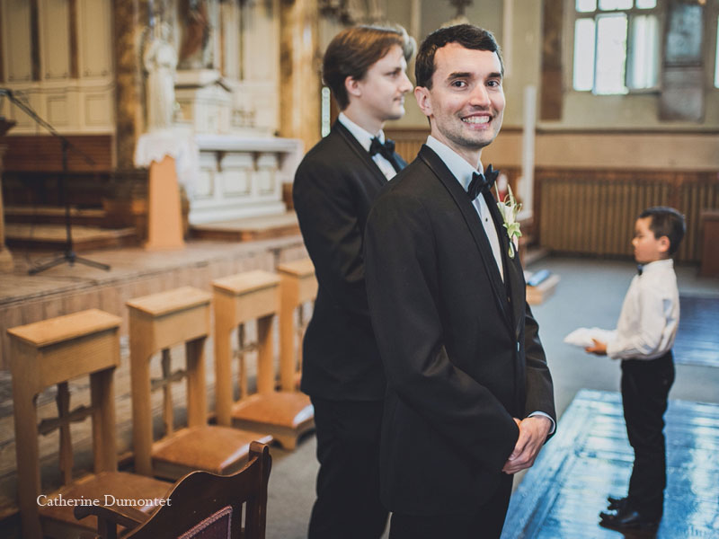 le marié est fébrile