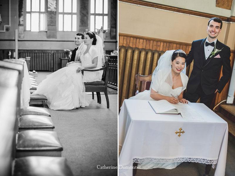mariage à l'église St-Irénée à Montréal
