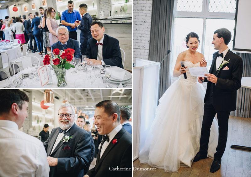 réception de mariage à l'Espace Lov de la Montagne