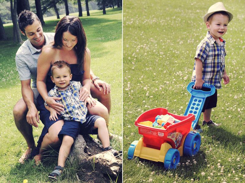 photos de famille au Parc Maisonneuve Montréal
