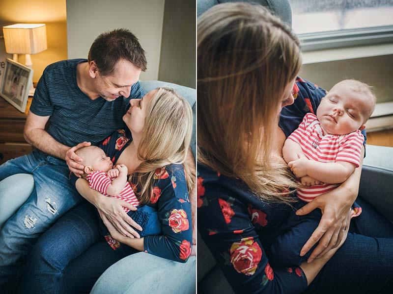 combo photo maternité et bébé