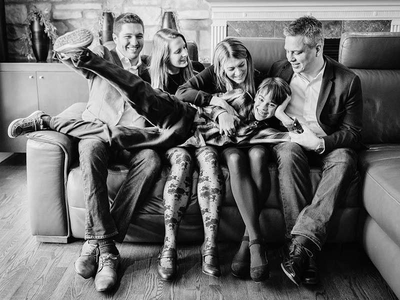 séance famille à Laval