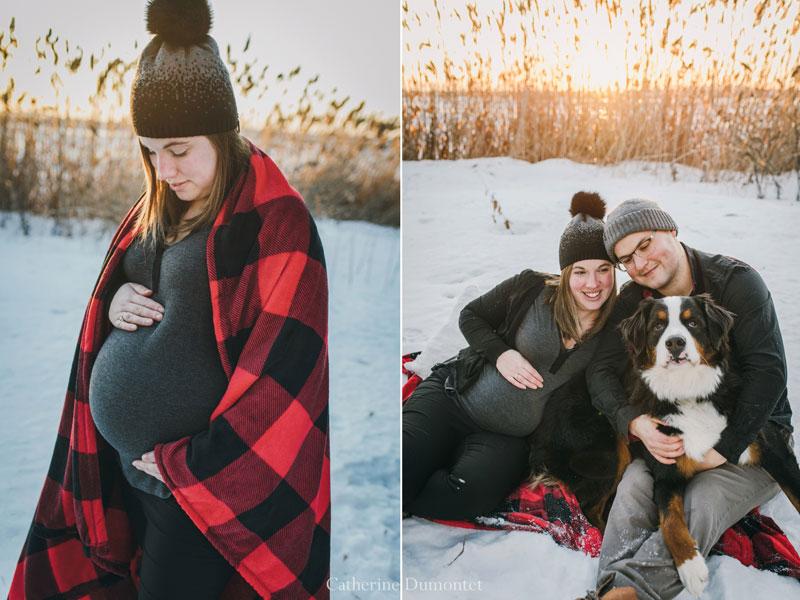 photos de maternité et de grossesse