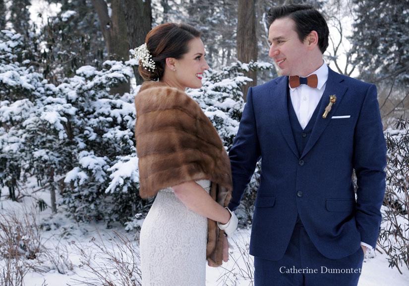 mariage d'hiver à La Toundra de Montréal