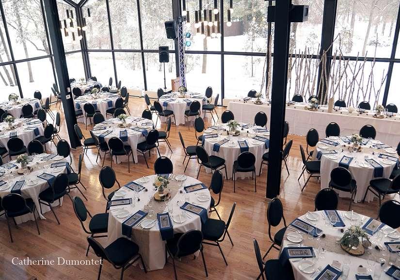 salle de réception La Toundra du Parc jean-Drapeau