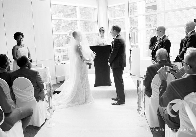cérémonie de mariage à l'Hôtel Sofitel de Montréal