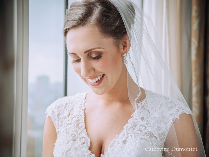 Portrait d'une mariée