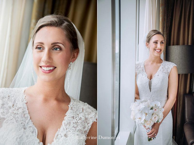 La mariée au Hilton du Lac-Leamy