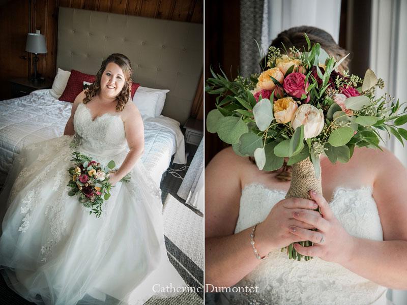 Portraits de la mariée