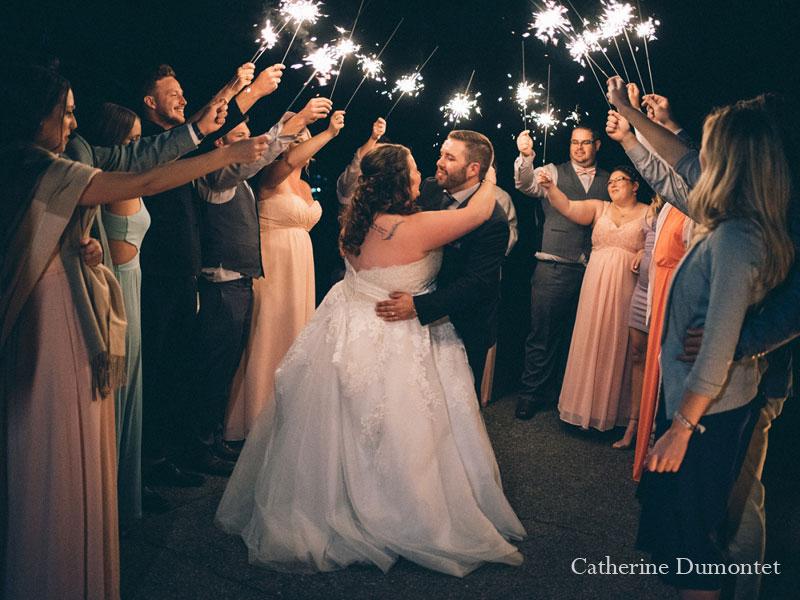 mariage à l'Hôtel Mont-Gabriel