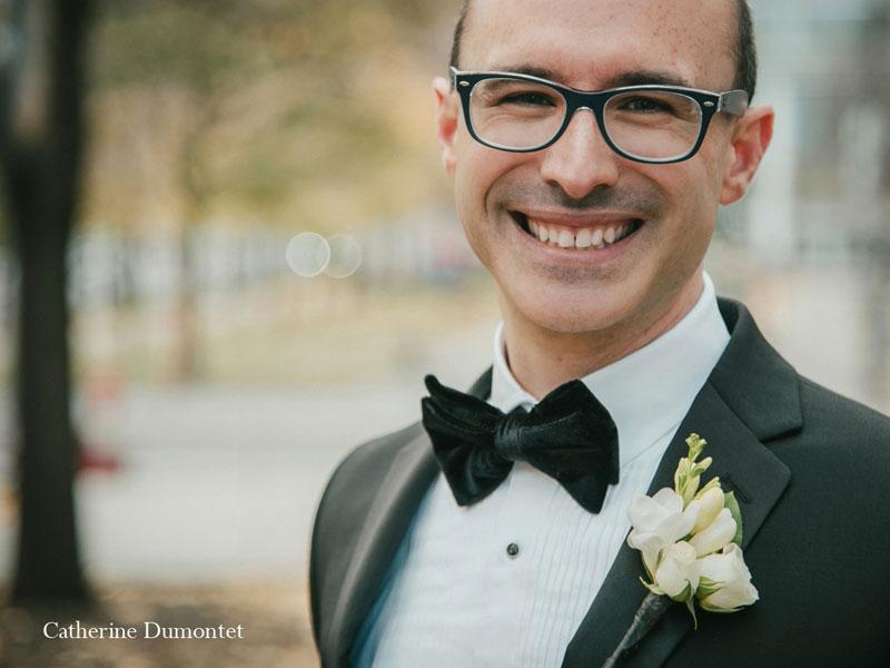 Portrait du marié