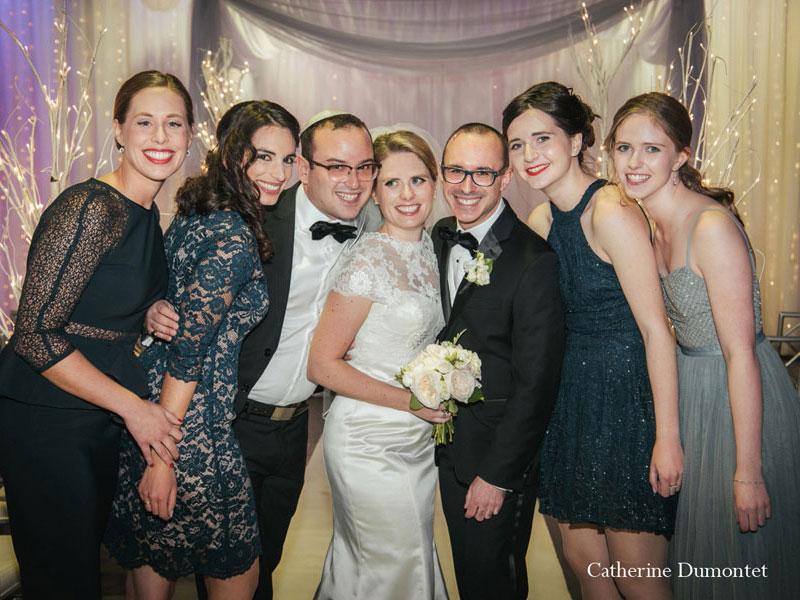 les frère et soeurs des mariés