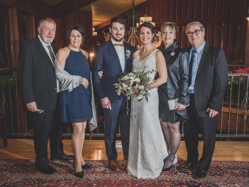 les parents du marié au Mont-Gabriel
