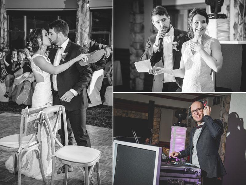 réception de mariage dans les Laurentides
