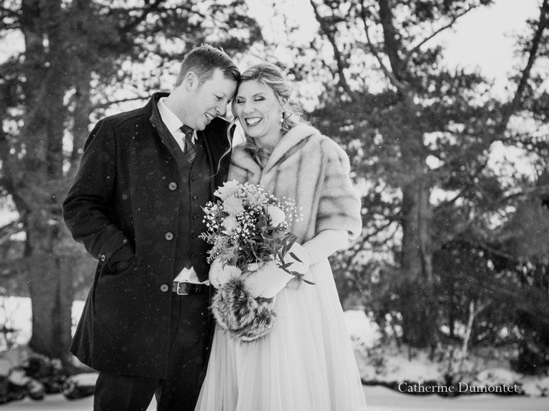 mariage dans les Laurentides au Lac-Supérieur