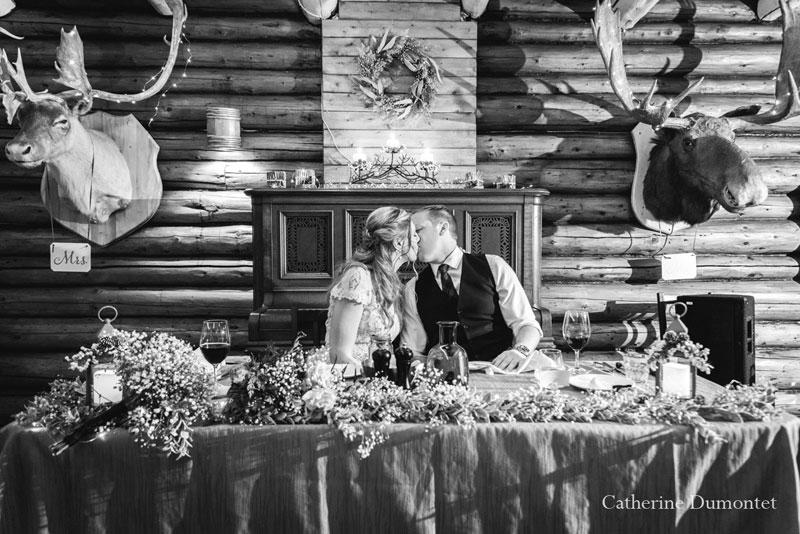Réception mariage au Resto Bar Le Rustique
