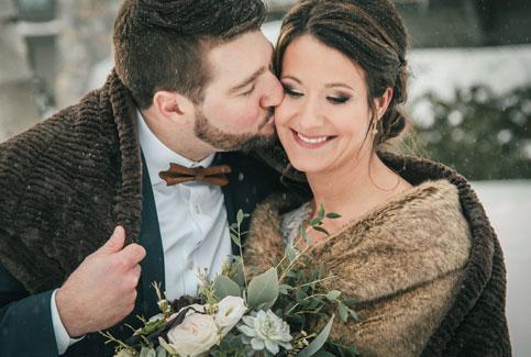 témoignages de mariés en hiver