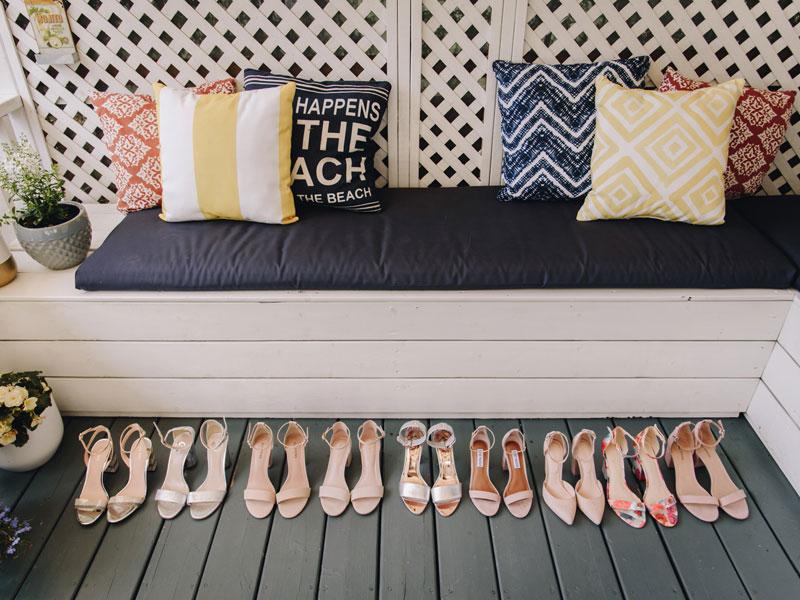 Les souliers des filles