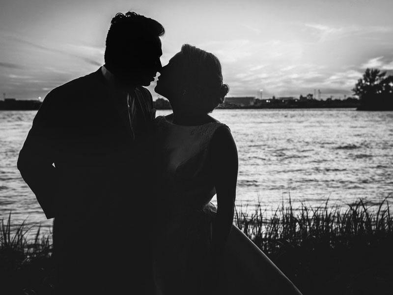 Les mariés sur l'Ile Navark