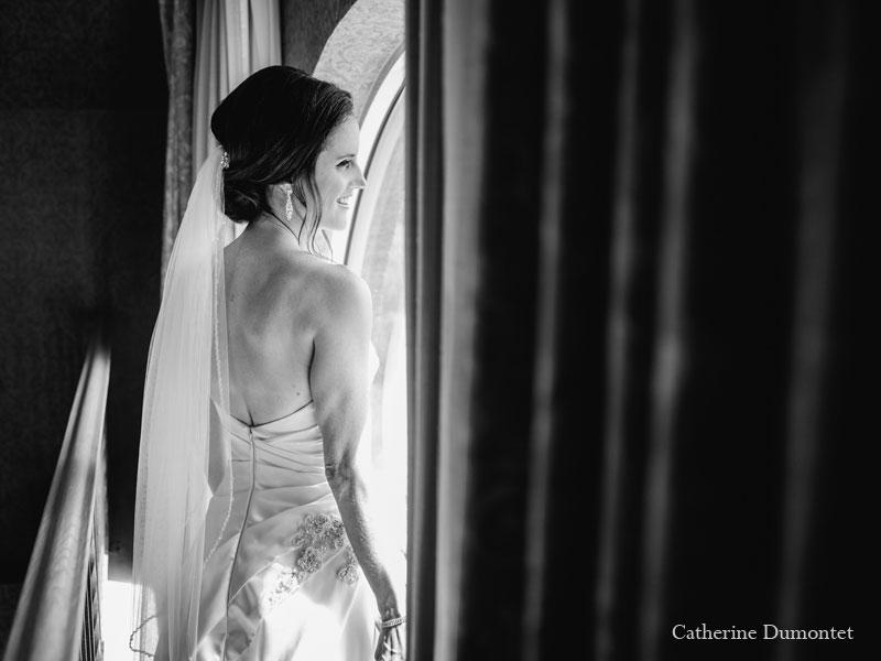 la mariée au Château Vaudreuil
